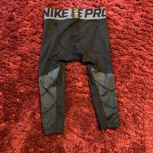 Boys Nike Pro Calf Base Layer Leggings